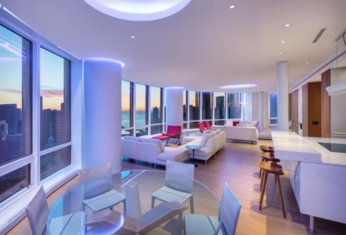 Trump Tower Condo; Chicago, IL; Becker Architects; Darris Lee Harris Job#1289